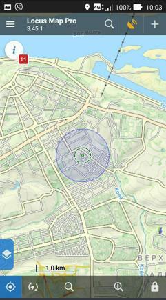 Locus map инструкция. Первый запуск